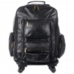 Patch Leather Trolley Bag-Backpack