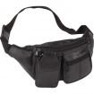 Genuine Lambskin Leather 6-Pocket Waist Bag