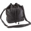 Ladies Shoulder Strap Black Purse