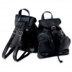 Genuine Lambskin Leather Backpack/Purse