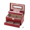 Deluxe Red Jewelry Box