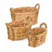 Rural Woven Nesting Baskets-3pc Set