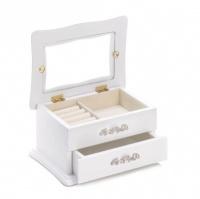 Classic White Jewelry Box