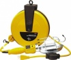25 Ft Retractable Cord Reel With Work Light