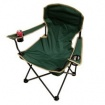 Folding Chair with Arm Rest and Can Holder