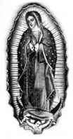 Guadalupe Traditional Throw