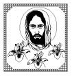Christ (40 x 60) Throw