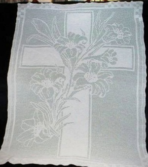 Flower Lilly Cross Pattern Kit