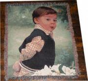 Woven Fringe COLOR PhotoThrow (52x63)